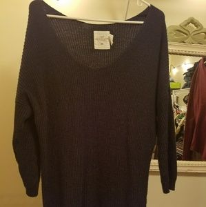 H&M Navy Blue Sweater